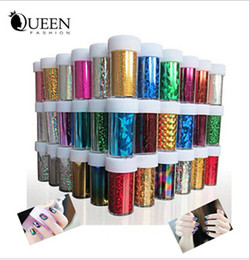 Wholesale Nail Designs Accessories - 66 Designs Nail Art Transfer Foils Sticker,12pcs lot Beauty Free Adhesive Nail Polish Wrap,Nail Tips Decorations Accessories free shipping