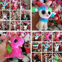 yeux de jouets Promotion Grands yeux en peluche jouet trousseau pendentif en peluche jouet poupée