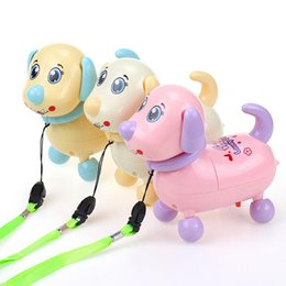 Wholesale Dog Musical - Plastic Kids Electric Pet Dog Musical Vocal Light Up Interact Funny Entertainment Learning Educational Toys Birthday Gifts