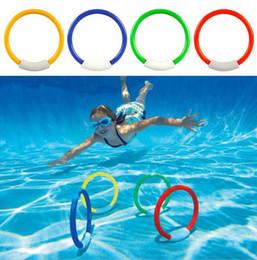 o anéis de água Desconto Anéis de mergulho Piscina Acessório Brinquedo Natação Aid para Crianças Jogar Água Esporte Mergulho Praia Verão Brinquedo Crianças Piscina Divertido