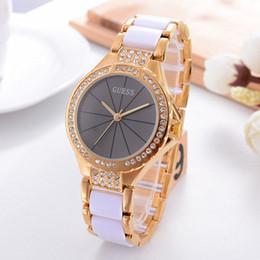 Wholesale Women Watch Bracelet Elegant - New Luxury Brand Women Watches Bracelet Montre Femme Fashion Elegant Quartz Watch Women Gold Silver Design Ladies Watches Reloj Mujer