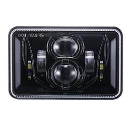 Ford führte scheinwerfer online-(2 STÜCKE) 60 Watt 4x6 zoll LED Scheinwerfer Rechteckigen Ersatz H4651 H4652 H4656 für Ford Probe Chevrolet Oldsmobile Cutlass-Schwarz