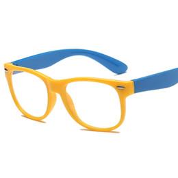 ddc7394fc1 Китай tr90 дети анти-синий оптические очки кадры мальчик девочка  близорукость рецепт очки ребенок оправа