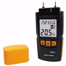 Wholesale Gauge Tester - GM610 Digital LCD Display Wood Moisture Meter Gauge Humidity Tester
