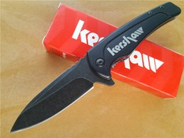 """Wholesale Assisted Blade - Kershaw Intellect Assisted Opening Flipper Knife (3"""" Satin) 1810 EDC folding camping gear pocket knives knifes hunting tactical with clip"""