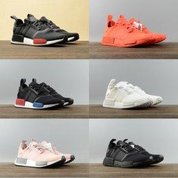 Zapatos perfectos para correr online-2019 baratos R1 Primeknit PK zapatillas de deporte perfectas de la calidad Zapatillas de deporte de la manera zapatillas de deporte de Primeknit del diseñador