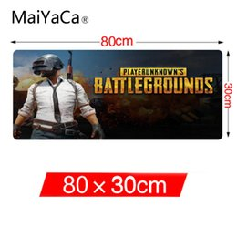 Wholesale Professional Mouse Pads - MaiYaCa BATTLEGROUNDS 300*800mm Game Mouse Pad High Quality Durable Rubber Non-slip Rubber Mouse Professional Custom Mat