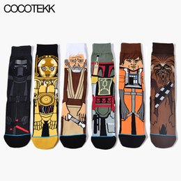 Wholesale Crazy Designer - Wholesale- New Cartoon Anime Mens Socks Long Winter Warm Socks Male Crazy Dress Socks Drop shipping Fashion Brand Designer to Build Gifts