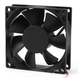 Wholesale Computer Ram Wholesale - Wholesale-PROMOTION! Hot 80mm DC 12V 2pin PC Computer Desktop Case CPU Cooler Cooling Fan