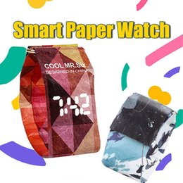 Montre-bracelet magnétique de mode montre-bracelet magnétique montre-bracelet LED Tyvek imperméable à l'eau pour les femmes ? partir de fabricateur