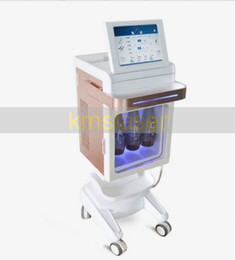 rf machine facial skin rejuvenation Promo Codes - Professional 5 in 1 spa equipment hydra facial water dermabrasion fractional RF cold hammer facial care skin rejuvenation spa salon machine