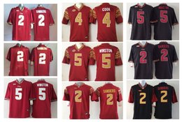 Wholesale Cooking Oranges - 2 Deion Sanders 4 Dalvin Cook 5 Jameis Winston Florida State Seminoles Men Football Jersey Mens College Jerseys