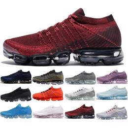 infirmières chaussures en caoutchouc Promotion Nike Air Max Vapormax 2018 Nouvelle Arrivée Hommes VaporMax Shock Racer Chaussures Pour Top qualité Mode Casual Vapeur Maxes Sport Sneakers Trainers