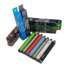 ego spinner batteries Canada - Vision Spinner II Battery 1650mah Vape Pen Electronic Cigarette 3.7V--4.8V Vision Spinner II Battery Variable Voltage For 510 eGo Atomizer