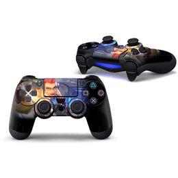 Peaux de vinyle pour ps4 en Ligne-Peau de contrôleur de jeu chaud Fortnite PS4, Stickers de contrôleur de jeu en vinyle Fortnite Battle Royale pour Sony PS4 PlayStation 4