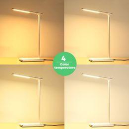 Lampada da tavolo a LED Lampada da ricarica standard per caricabatterie wireless Qi per samsung s7 edge s8 plus note8 iphone8 X da