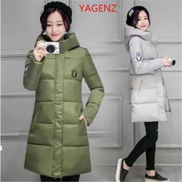 Wholesale Eiderdown Coat - Lowest price Women Cotton coat Large size Winter jacket Coat High quality Hooded Thickening Eiderdown cotton Winter K2391