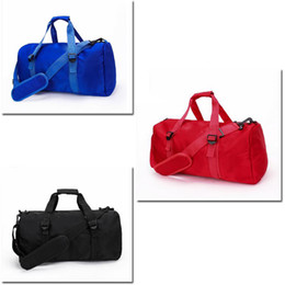 Borsa da viaggio borsa da viaggio borsa yoga nera New Brand nero rosso blu 3 colori formato 47 cm * 20 cm * 24 cm 1 pz sarà spedito da Epacket da