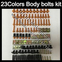 Wholesale Rc51 Fairings - Fairing bolts full screw kit For HONDA VTR1000 2000 2001 2002 2003 04 2005 2006 RC51 SP1 SP2 VTR 1000 Body Nuts screws nut bolt kit 23Colors