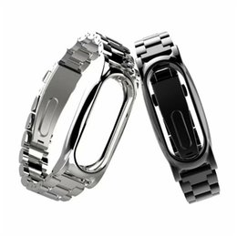 Wholesale Magnet Bands - SUNWARD 2017 New For Xiaomi Mi Band 2 Magnet Stainless Steel Luxury Wrist Strap Metal Wristband Drop ship july3 P30