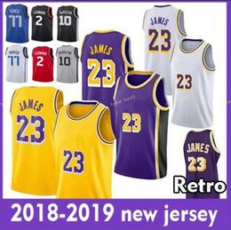 8b515e62b 23 LeBron James Jersey 77 Luka Doncic 2 Kawhi Leonard 10 DeMar DeRozan 22  DeAndre Ayton 2018 2019 Basketball Jerseys Stitched Men Youth Kid
