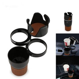 Wholesale Wholesale Black Plastic Cups - Multifunction Practical Car Auto Sun Glasses Drinking Cup Car Phone Holder Coins Keys Phone Interior Extra Space Durable ABS HOT