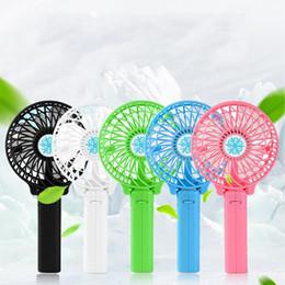Ventilatore pieghevole ricaricabile portatile di ricarica USB Raffreddatore rimovibile a mano Mini ventilatori esterni Pocket Ventaglio pieghevole Spedizione gratuita NA16 da massaggi sportivi corpo fornitori
