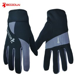 Wholesale Riding Gloves For Women - A Pair Winter Jogging Running Driving Riding Hiking Gloves Feece Windproof Warm Breathable Sports Gloves For Men and Women