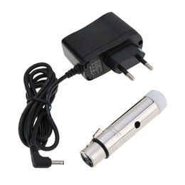 Grande materiale 2.4G ISM DMX512 Wireless femmina XLR ricevitore LED Stage Lighting Effect PAR Party Light EU Plug da