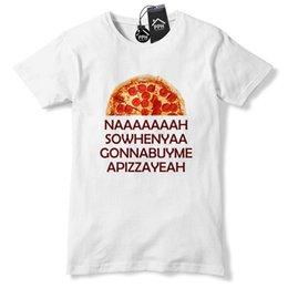 lion king t shirt 2018 - Na So When Ya Buy PIZZA Funny T Shirt Pepperoni King Foodie Lion Tshirt 511 Funny free shipping Unisex Casual tee gift