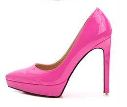 Wholesale Red Star Pump - Star models Nudes Painted Tip Pumps Stationery Fine with 12cm Sexy Nightclubs Shallow mouth shoes Wedding shoes.33 40 US2....US9