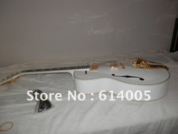 Wholesale Electric Guitar Hollow Body White - Wholesale - free shipping Custom Shop 6120 Hollow body White Falcon Electric Guitar with Free shipping AND CASE in stock