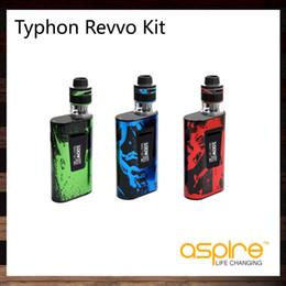 Wholesale Arc Kit - Aspire Typhon Revvo Kit With 100W Typhon 100 TC Mod 5000mah Battery 3.6ml Revvo Tank New ARC Aspire Radial Coil Technology 100% Original