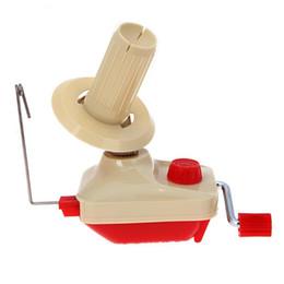 Wholesale Avvolgitore di filati palmare Swift Fiber String Ball Avvolgitore di lana Holder Pratica macchina per avvolgimento String Accessori per il cucito