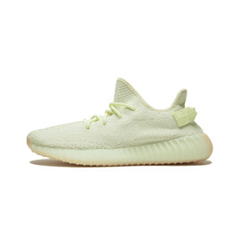 Wholesale men running trainers - With Box Sply 350 V2 Sesame F99710 Butter F36980 Beluga 2.0 AH2203 Zebra Kanye West Women Sport Running Shoes Men Trainers Athletic Sneakers
