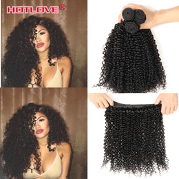Wholesale Afro Hair Weave - Malaysian Afro Kinky Curly Hair Mixed Length 3 4 Bundles Lot Unprocessed Malaysian Kinky Curly Virgin Hair Human Hair Extensions