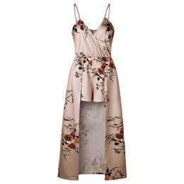 a2756025af7 Chinese wide leg jumpsuit floral one piece rompers womens shorts jumpsuit  plus size ladies clothes playsuits
