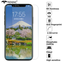 Tronsnic Premium - Verre Trempé pour iPhone X 8 Plus et Protecteur d'écran pour iPhone 5s 6s plus 7 Plus - Anti-rayures et anti-traces ? partir de fabricateur