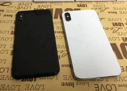Wholesale Cheap Touch Screen Cellphones - Unlocked Cellphone Goophone X iX i8 plus 5.5inch 1GB RAM 4 ROM Show 4G lte android Quad Core MTK6580 cheap Smartphone