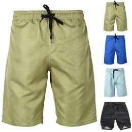 48164b4da0129e mens beach clothes 2019 - Vertvie Summer Beach Trunks Swim Shorts Solid  Drawstring Shorts Surf Board