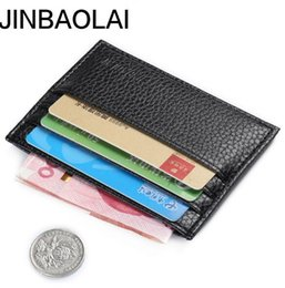 Wholesale Photo Spots - Slim credit card package high-quality brand mens Doka wallet bus card sets wallet spot Free shipping