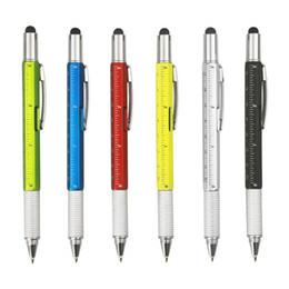 Canada Outil de bricolage solide en aluminium multifonctionnel, avec tournevis, stylo à bille, stylet capacitif, niveau à bulle, mèche Phillips à tête plate Offre
