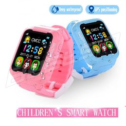 Wholesale android agps - Waterproof Kids K3 children Smart Watch GPS AGPS LBS Safe Anti-Lost Smartwatch with Camera SIM Call Location Device Tracker