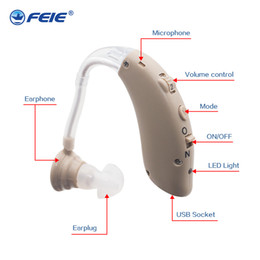 Wholesale Hearing Amplifier Rechargeable - Ear Care Tools Sound Amplifier Medical Headphones Mini Devices Sordos 2018 Newest Arrival Rechargeable Deaf Hearing Aids uk drop Ship