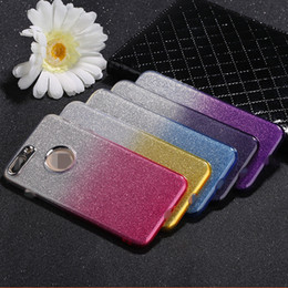 Handy-glitzer telefon fall online-Mode! Überzug Farbverlauf, Glitter Handy-Fall, Handy-Fall i7, ich x 6 s plus.