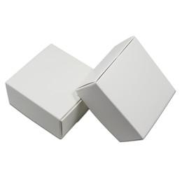 Ящики для мыловарения онлайн-100 Шт. Белый Картон Подарочная Упаковка Мешки Крафт-Бумага Мыло Ручной Упаковки Коробка Свадьба Небольшие Подарки Конфеты Пакет Коробка