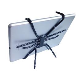 Складная подставка для планшета для iphone онлайн-Spider Tablet Holder Octopus Tablet Stand for iPad iPhone Cell Phone Foldable Folding Mount on Bed Bike Car Desk HD01