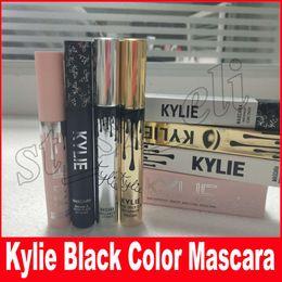 Wholesale Magic Eye Charm - Kylie i want it all birthday Mascara Charming Eyes Magic Thick Slim Waterproof Mascara Black Color Kylie holiday Gold Mascara