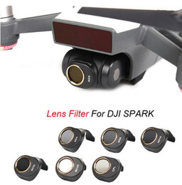 Wholesale Hd Filters - Sunnylife DJI Spark ND4 ND8 ND16 ND32 MCUV CPL Lens Filter for Spark HD Clear Waterproof Camera Lens Multi-Layer Coating Films