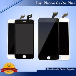 Argentina Venta al por mayor- Pantalla LCD táctil digitalizador Reparación de ensamblaje de marcos para iPhone 6 6 Plus 6S 6S Plus DHL gratis Suministro